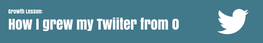 How to get followers to a new twitter account