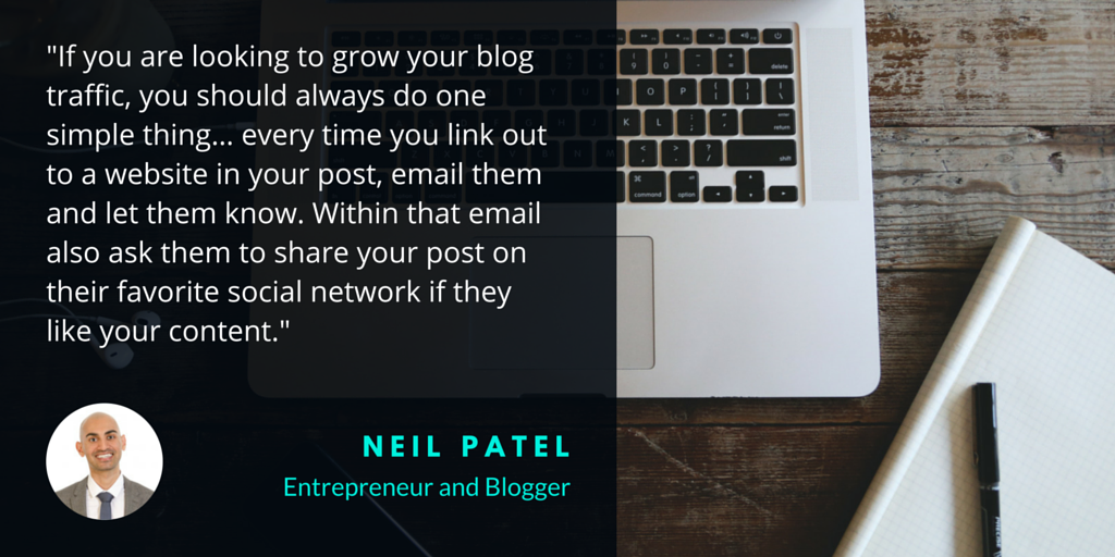 Neil Patel how to increase blog traffic