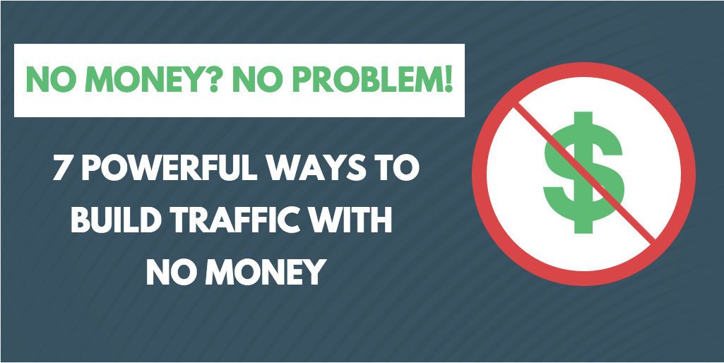 how to build traffic to your site