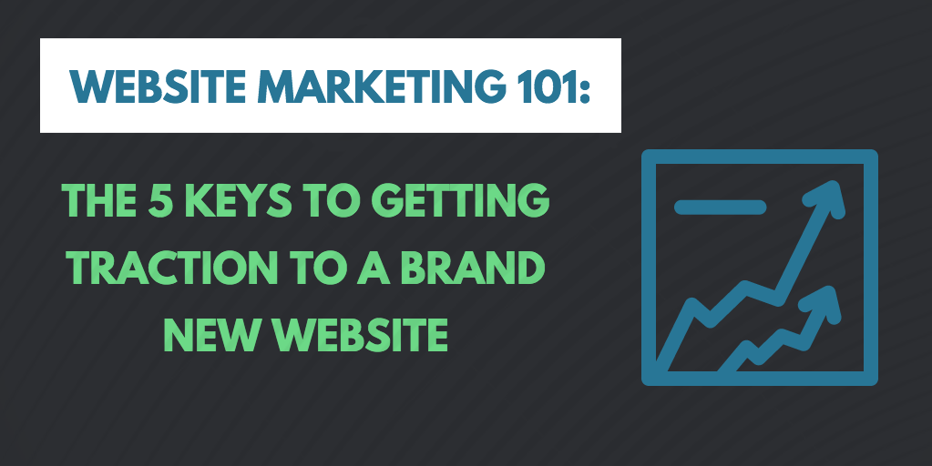 How to market a new website