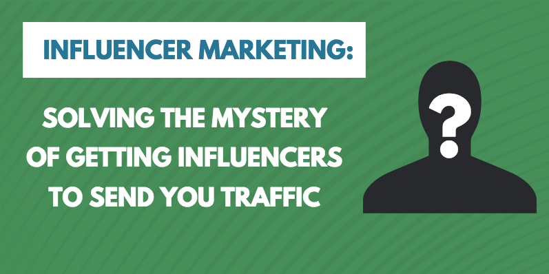 Get website traffic from influencers