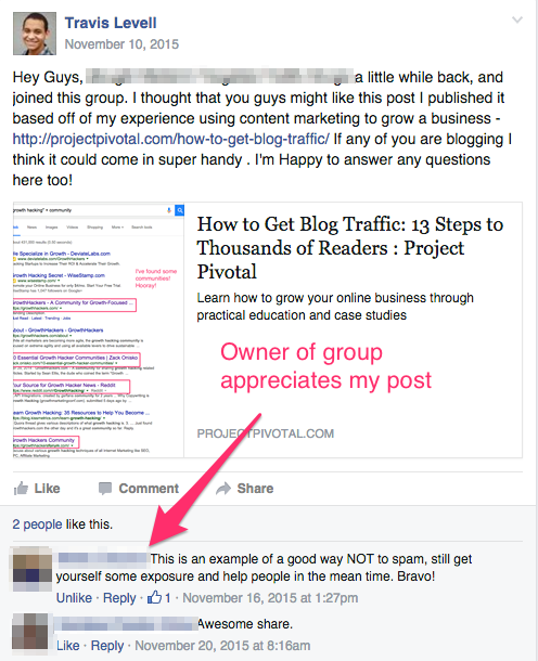 how to post your blog on facebook