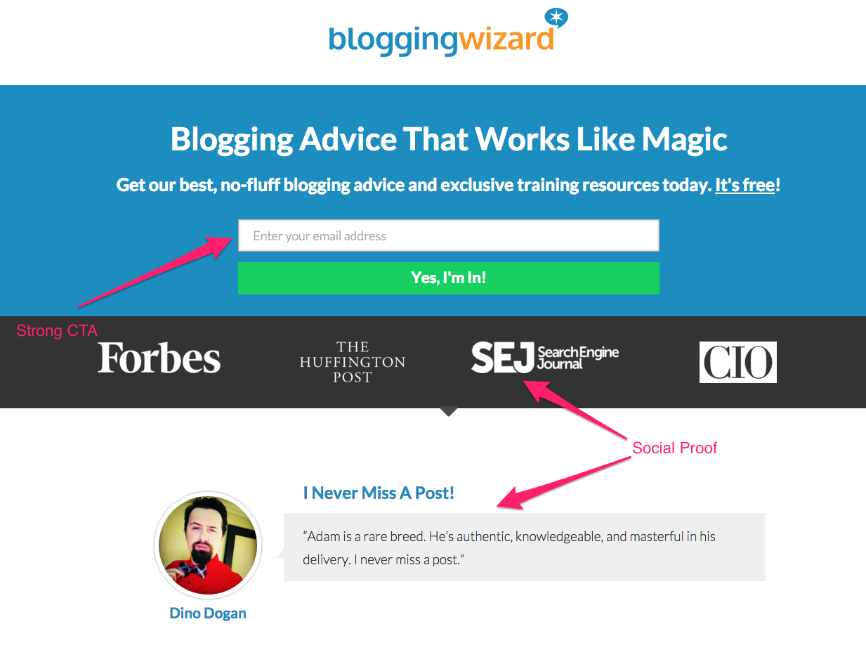 blogging wizard's homepage