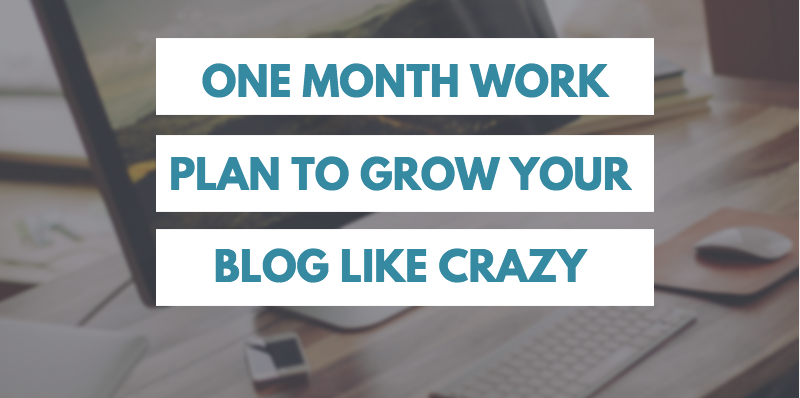 Blueprint to grow your blog fast