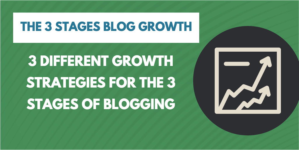 the 3 stages of blog growth