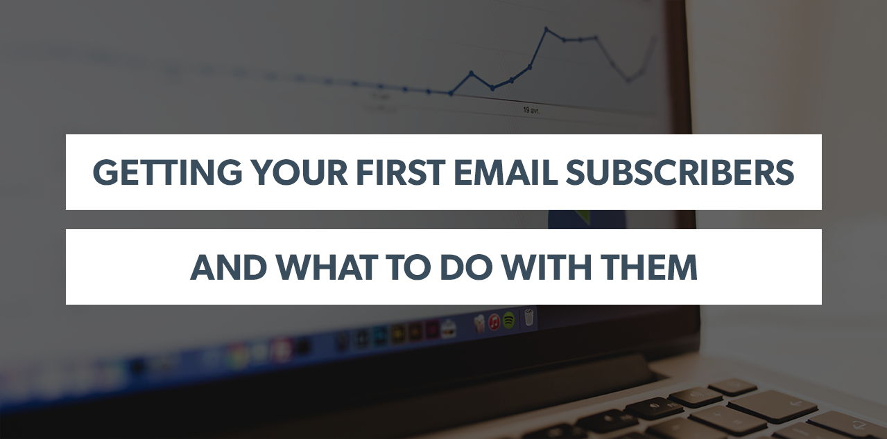 Getting Your First Email Subscribers and What to Do WIth Them