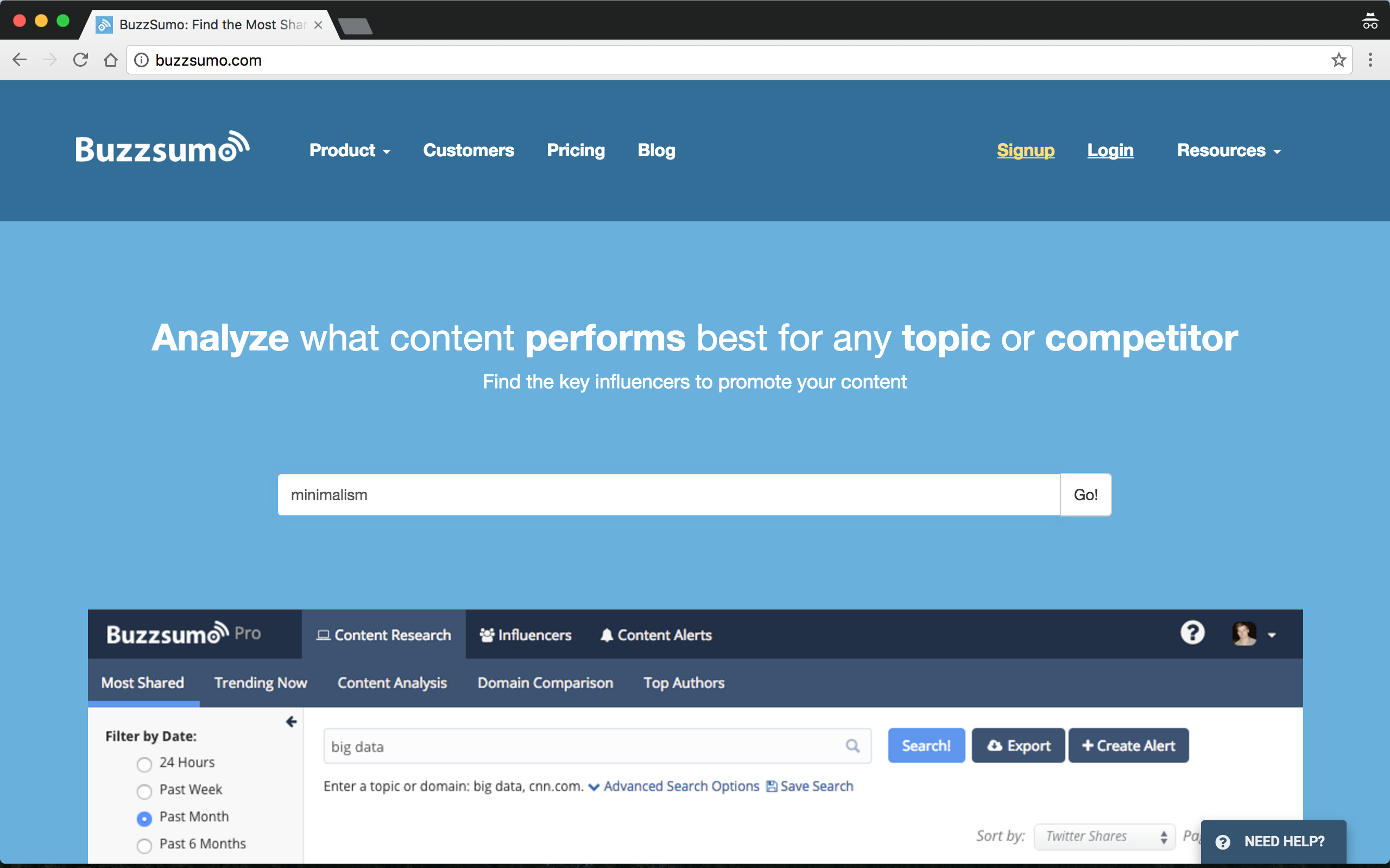 Buzzsumo Research Image